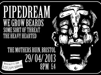 We Grow Beards + Some Sort Of Threat + The Heavy Hearted + Pipe Dream picture