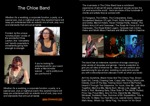 Flyer thumbnail for The Chloe Band