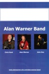 Flyer thumbnail for Alan Warner Band