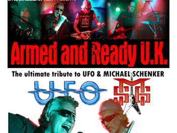 The Definitive Ufo / Michael Schenker Tribute Band: Armed And Ready picture