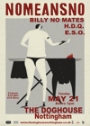 Flyer thumbnail for nomeansno + Billy No Mates + HDQ + Electric Shite Orchestra