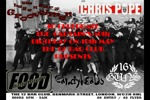 Flyer thumbnail for London Callin Presents: Pope + The Legendary Groovymen + 16 Guns + Food + The Candymen