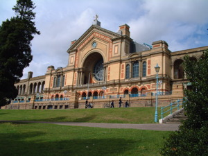 Alexandra Palace artist photo