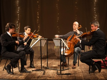 The Kreutzer String Quartet artist photo