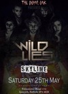 Flyer thumbnail for The Wild Lies + Skyline