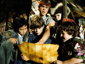 Film promo picture: The Goonies