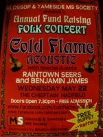 Flyer thumbnail for Glossop & Tameside MS Society Annual Fundraiser: Cold Flame