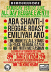 Flyer thumbnail for Headsessions Presents... 009 All Day Reggae: Aba Shanti + Reggae Roast DJ Collective