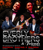Flyer thumbnail for The Temple Brothers Play Everly
