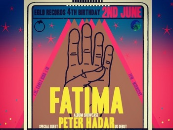 Eglo Records 4th Birthday Party: Fatima + Peter Hadar + The Eglo Live Band + Strange U + Alexander Nut picture