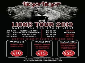 British Lions Tour Live picture