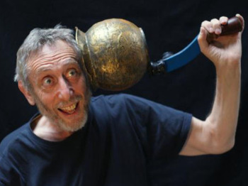 Centrally Heated Knickers: Michael Rosen picture