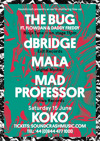 Flyer thumbnail for THIS WEEKEND! - Soundcrash: The Bug + Flowdan + Daddy Freddy + D-Bridge + Mala + Mad Professor
