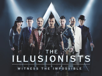 The Illusionists Tour Cast