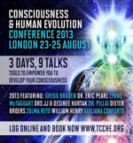 Flyer thumbnail for The Conference For Consciousness And Human Evolution: Drs. JJ and Desiree Hurtak, Lynne McTaggart, Gregg Braden, Dieter Broers, Giuliana Conforto, Dr. Pillai, William Henry