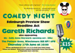 Flyer thumbnail for The Comedy Pott: Gareth Richards, Silky, Sally-Anne Hayward