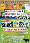 Flyer thumbnail for Our Big Punk Gig: The pUKEs + Louise Distras + The Punkture Sluts