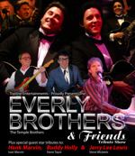 Flyer thumbnail for The Everly Brothers & Friends Tribute Show: The Temple Brothers Play Everly