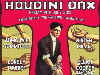 Jump The Gun and Horts Present: Houdini Dax + Armchair Committee + Winter Milan + Lonely Tourist + Elliot Cooper picture