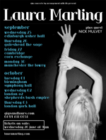 Flyer thumbnail for Laura Marling + Nick Mulvey