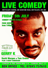 Flyer thumbnail for Live Comedy: Gerry K, David Morgan, Tom Craine