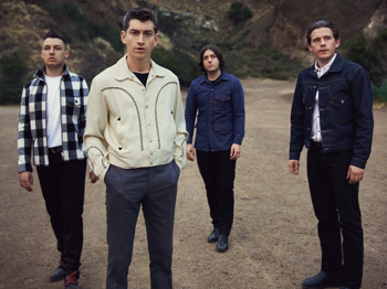 Arctic Monkeys + The Strypes picture