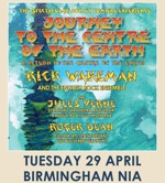 Flyer thumbnail for Journey To The Centre Of The Earth: Rick Wakeman + The English Rock Ensemble + Jules Verne Symphony Orchestra and Choir + Roger Dean