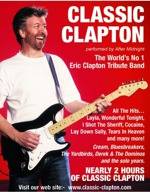 Flyer thumbnail for Classic Clapton - After Midnight