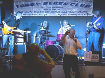 Feather's Dancing Mayhem: Otis Mack & The Tubby Bluesters picture