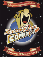 Flyer thumbnail for House Of Fun Comedy Club: Alex Boardman, Steve Shanyaski, Dave Twentyman