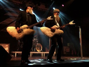 The ZZ Tops artist photo