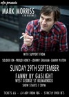 Flyer thumbnail for Mark Morriss (The Bluetones) + Johnny Graham + Soldier On + Proud Honey + Danny Paton