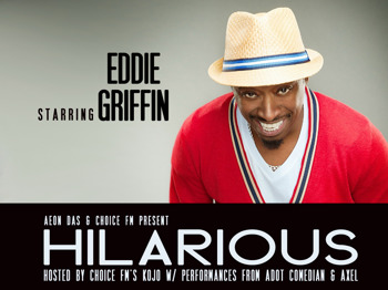 Hilarious: Eddie Griffin, Tony Rock, Kojo, A Dot Comedian, Axel picture