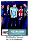 Flyer thumbnail for Happy Place Launch: Missing Andy + Sean McGowan + Million Faces
