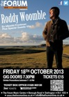 Flyer thumbnail for Roddy Woomble