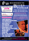 Flyer thumbnail for Boogaloo Blues Weekend: Chris Farlowe + The Norman Beaker Band + The Spikedrivers + Guy Tortora + Giles Hedley And The Aviators + Steve Roux & The Brass Knuckle Blues Band + Robin Bibi + Earl Jackson + Jason Stretch Blues Band