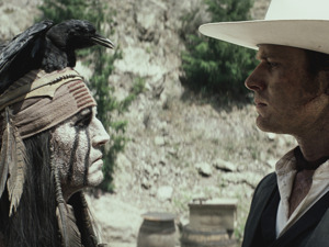 Film promo picture: The Lone Ranger