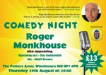 Flyer thumbnail for The Comedy Pott: Roger Monkhouse, Stuart Goldsmith, Maff Brown