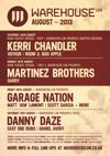 Flyer thumbnail for Warehouse LDN Presents Madtech Records: Kerri Chandler + Voyeur