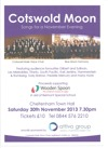Flyer thumbnail for Cotswold Moon: Songs For A November Evening: Cotswold Male Voice Choir + The Blue Moon Harmony Mixed Voice Choir