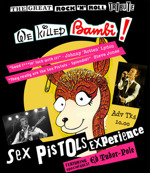 Flyer thumbnail for The Great Rock'n'Roll Tribute!: Sex Pistols Experience + Ed Tudor-Pole + Don't Tell Him Pike