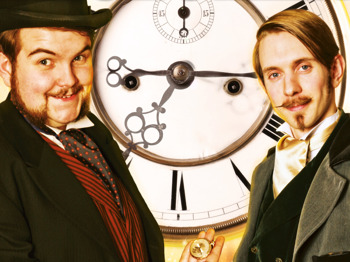 Time Travelling Magicians: Morgan & West picture