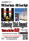Flyer thumbnail for Dire Straits And Blondie Tribute Night: Money For Nothing + Atomic Blondie