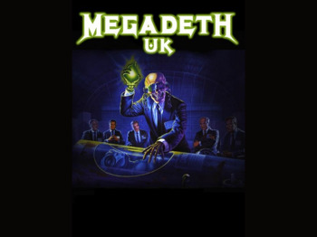 Megadeth UK picture