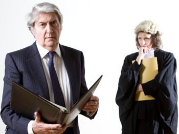 Rough Justice By Terence Frisby: Tom Conti picture