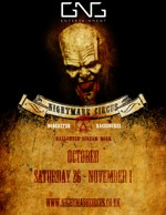 Flyer thumbnail for The Nightmare Circus Halloween Scream Park