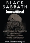 Flyer thumbnail for Snowblind Black Sabbath Tribute