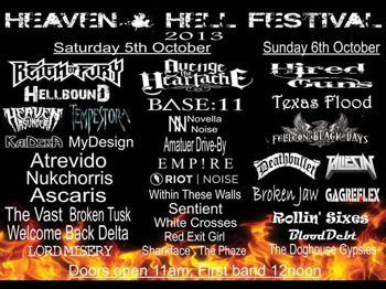 Heaven And Hell Festival 2013 picture