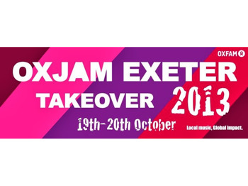 Oxjam Exeter Takeover 2013 picture