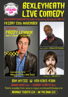 Flyer thumbnail for House Of Stand Up - Bexleyheath Live Comedy: Paddy Lennox, Ian Smith, Jason Patterson, Aaron Twitchen, Dave Green